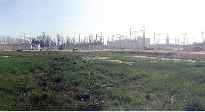 Le site avant travaux