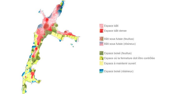 Plan pour une île-mosaïque