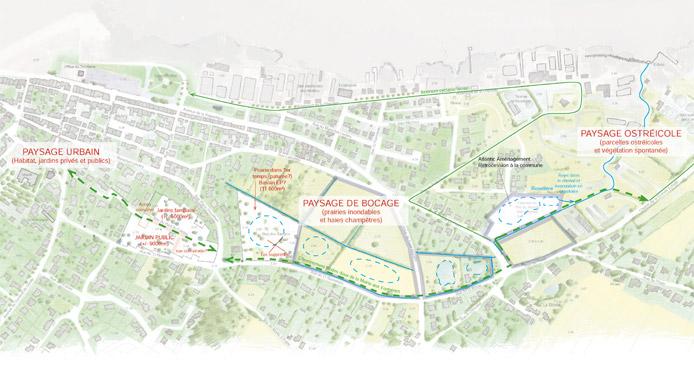 Plan des orientations générales d'aménagement à l'échelle du talweg